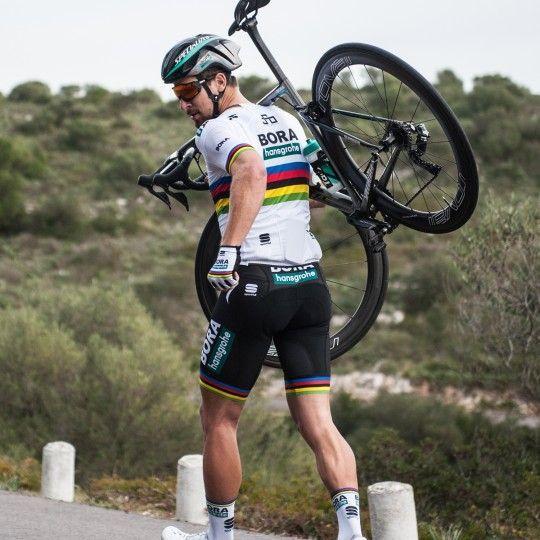 BORA-hansgrohe Straßenrad Weltmeister 2018 Radsocken 5
