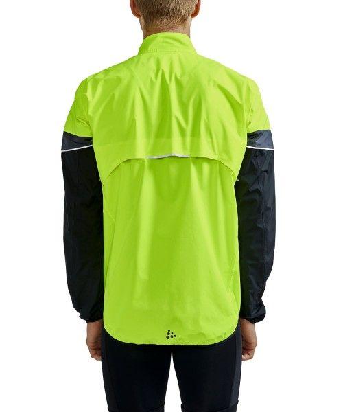 Craft Core Endur Hydro Jacket Fahrrad Regenjacke neongelb 5