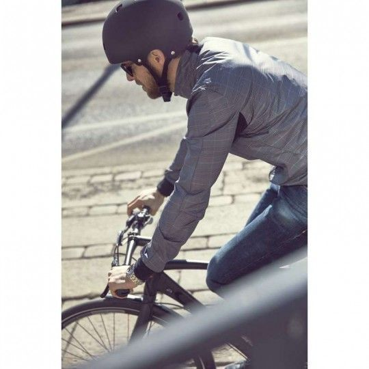 Craft Ride Wind Jacket Fahrrad Windjacke grau 5