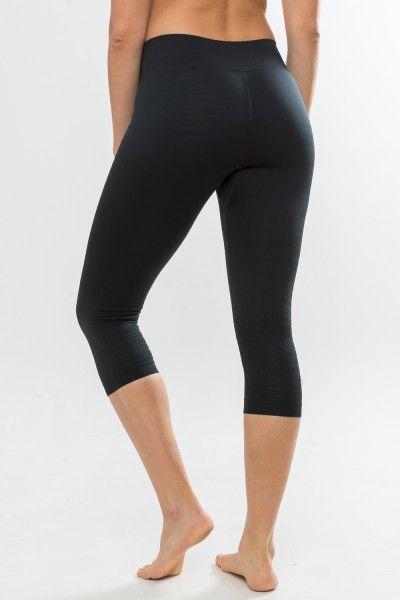 Craft Warm Comfort Knicker Damen 3/4 Unterhose schwarz 5