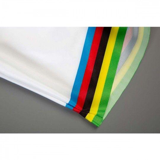 MOVISTAR Road World Champion 2018/19 short sleeve cycling jersey (continuous zipper)- Endura professional cycling team