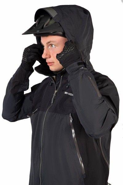 Endura MT500 Fahrrad Regenjacke schwarz 5