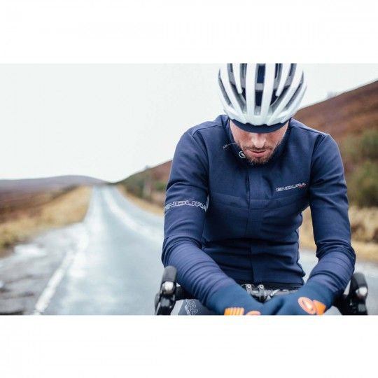 Endura PRO SL CLASSICS long sleeve jersey/jacket blue (E3135BV)