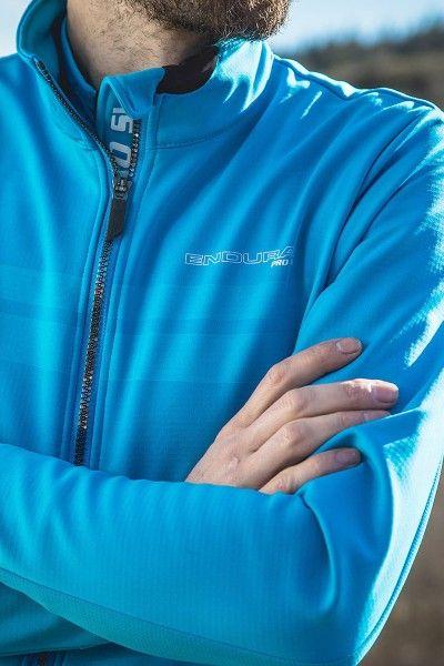 Endura PRO SL THERMO Fahrrad Winterjacke blau 5
