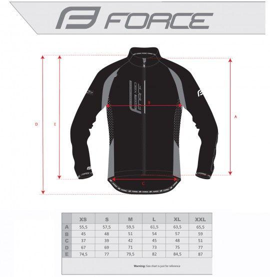 Force X80 Softshell Fahrradjacke neongelb (90006) Größe XL (5)