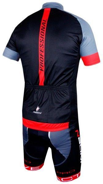 Nalini Radsport SET (STRIKE + ZUBENE1) schwarz/rot 2