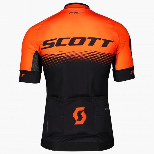 Scott RC PRO Radtrikot schwarz/orange 2