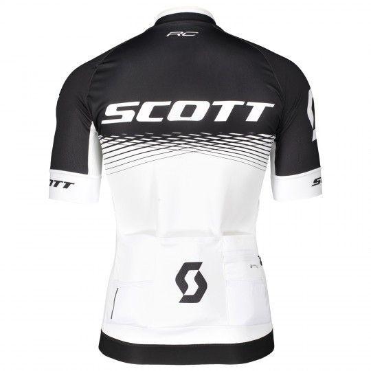 Scott RC PRO Radtrikot schwarz/weiß 2