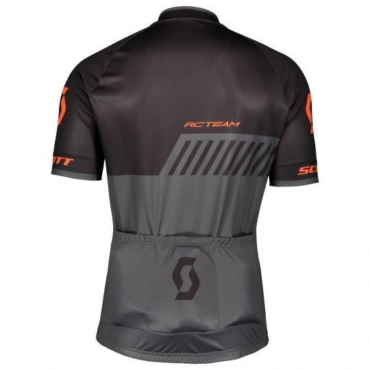 Scott RC TEAM 10 Radtrikot schwarz/orange 2
