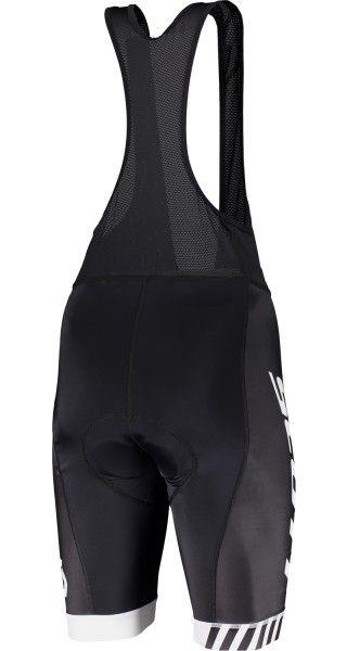 Scott RC TEAM Trägerhose weiß schwarz 2