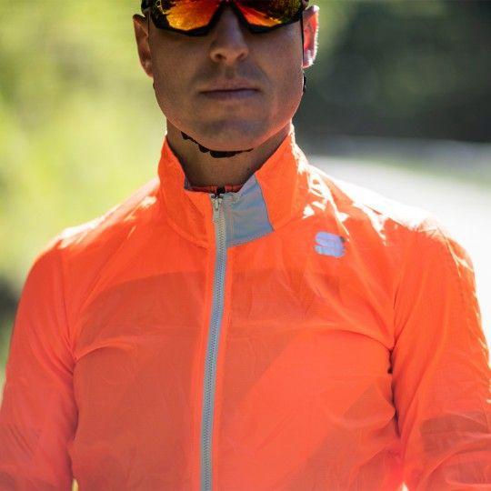 Sportful Hot Pack Easylight Fahrrad Windjacke orange 5
