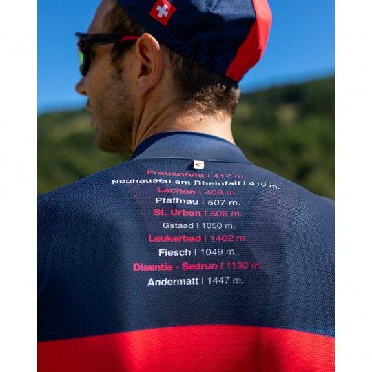 Tour de Suisse 2021 CLIMB short sleeve cycling jersey - Santini