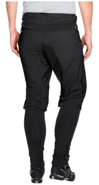 Vaude VIRT Softshell Pants II Radhose lang schwarz 5