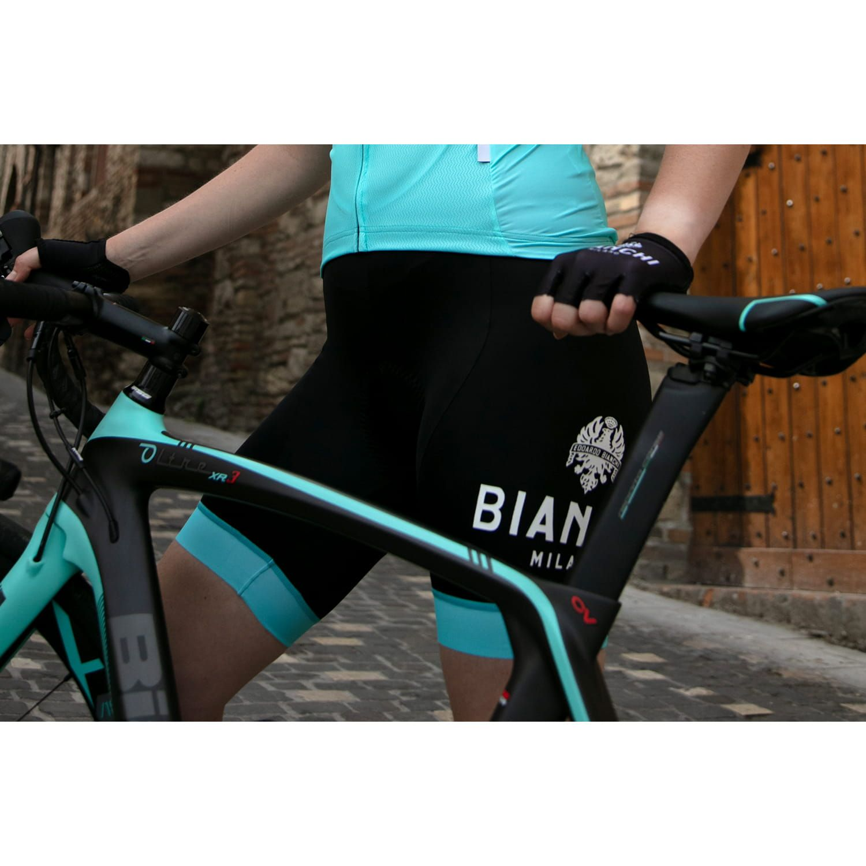 Bianchi Milano NOCITO BIB womens cycling bib shorts black (E19-4300). Next 0141406a9