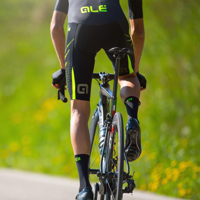ALE PRO RACE 2.0 cycling skinsuit black yellow fluo. Next b147b754d