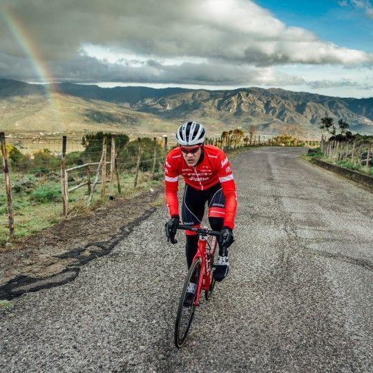 Trek - Segafredo 2018 Fahrradhelm weiß 6
