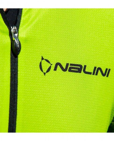 Detailbild1 Nalini Stripes Jersey Fahrrad Kurzarmtrikot gelbgrün