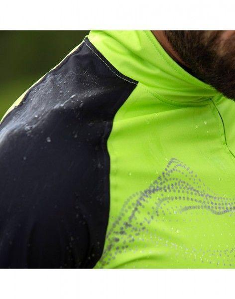 Detailbild4 Eco Wind Jacket Fahrrad Windjacke hellgrün/schwarz