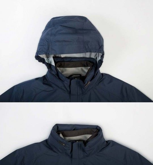 Endura URBAN 3in1 Regenjacke detail 4
