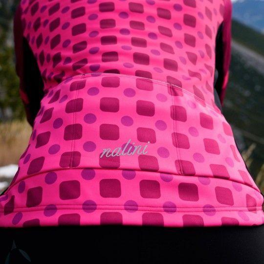 Nalini WS Lady Jkt 2.0 Fahrrad Damen Winterjacke pink/schwarz 6