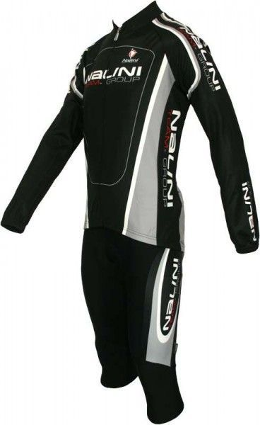 NALINI PRO SPEZIAL 3/4 Radsporthose ohne Träger VOLVINO schwarz