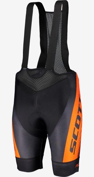 Scott RC PRO Trägerhose schwarz/orange 1