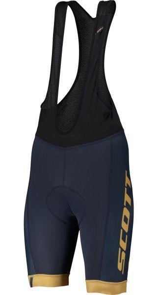 Scott RC TEAM Trägerhose blau/ockergelb 1