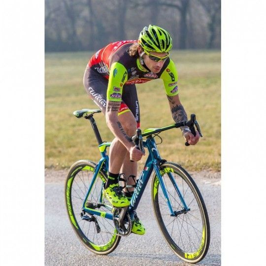 Force RACE PRO Rad Sportbrille neongelb 6