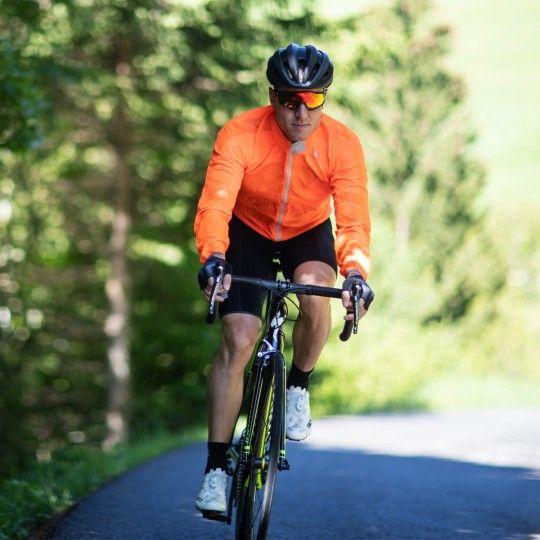 Sportful Hot Pack Easylight Fahrrad Windjacke orange 6
