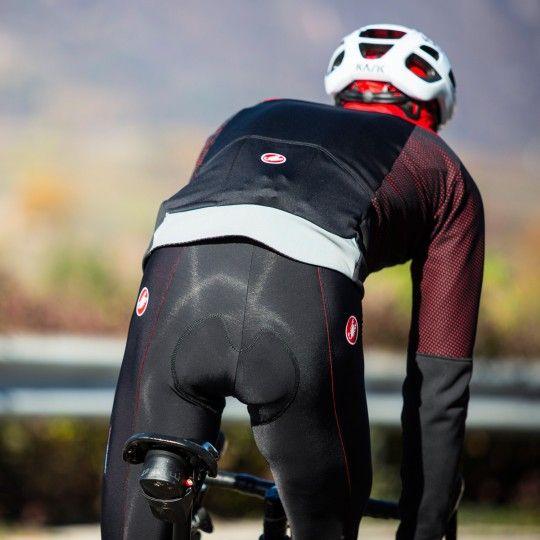 Castelli MORTIROLLO V Fahrrad Winterjacke schwarz/rot 7