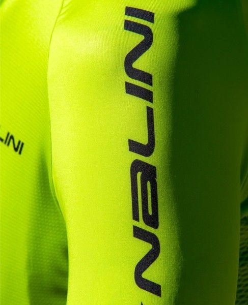 Detailbild2 Nalini Stripes Jersey Fahrrad Kurzarmtrikot gelbgrün