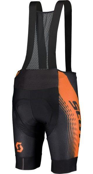 Scott RC PRO Trägerhose schwarz/orange 2