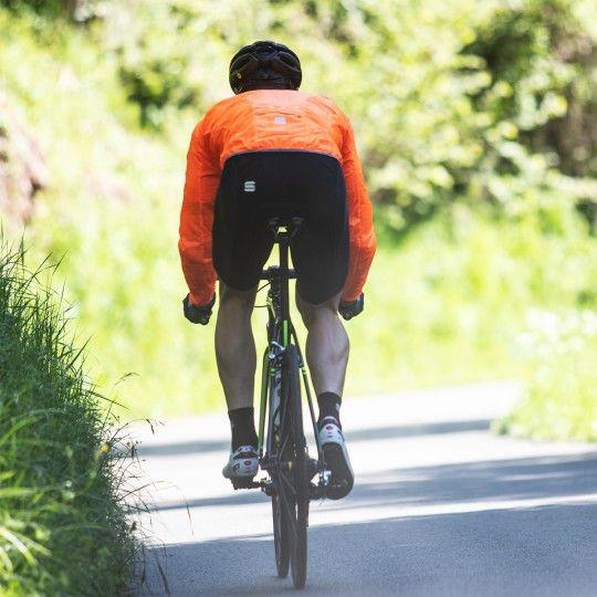 Sportful Hot Pack Easylight Fahrrad Windjacke orange 7