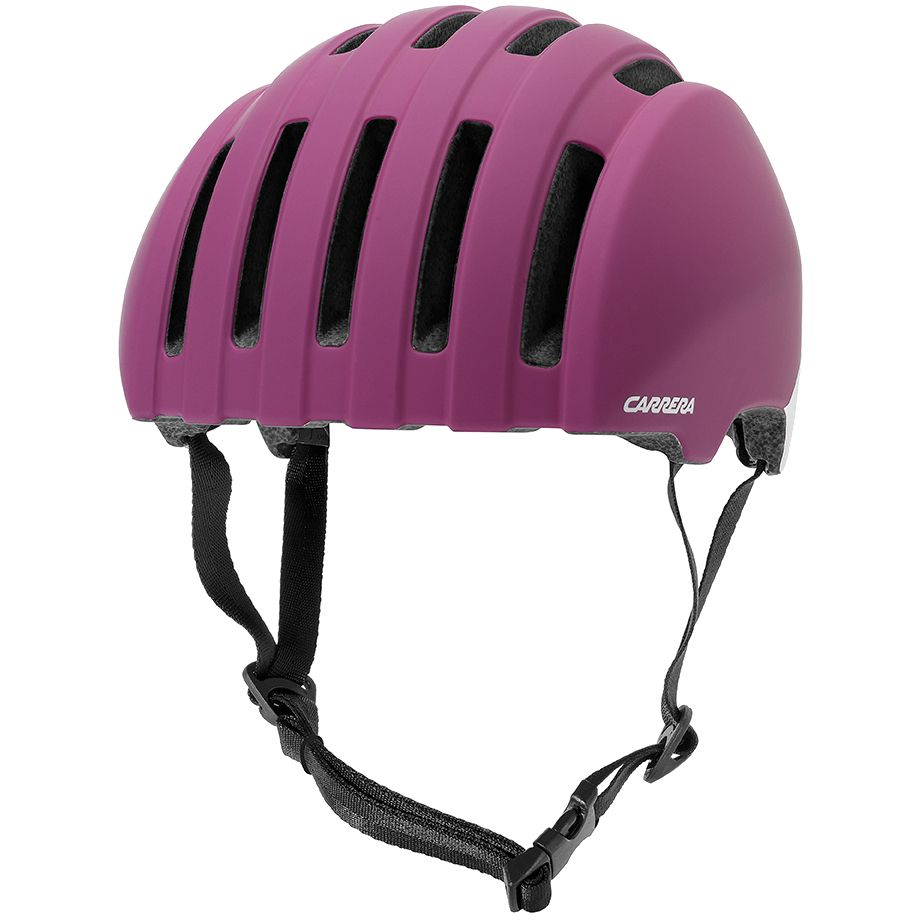 carrera precinct fahrradhelm matte fuchsia ivory uvp 70 00 eur ebay. Black Bedroom Furniture Sets. Home Design Ideas