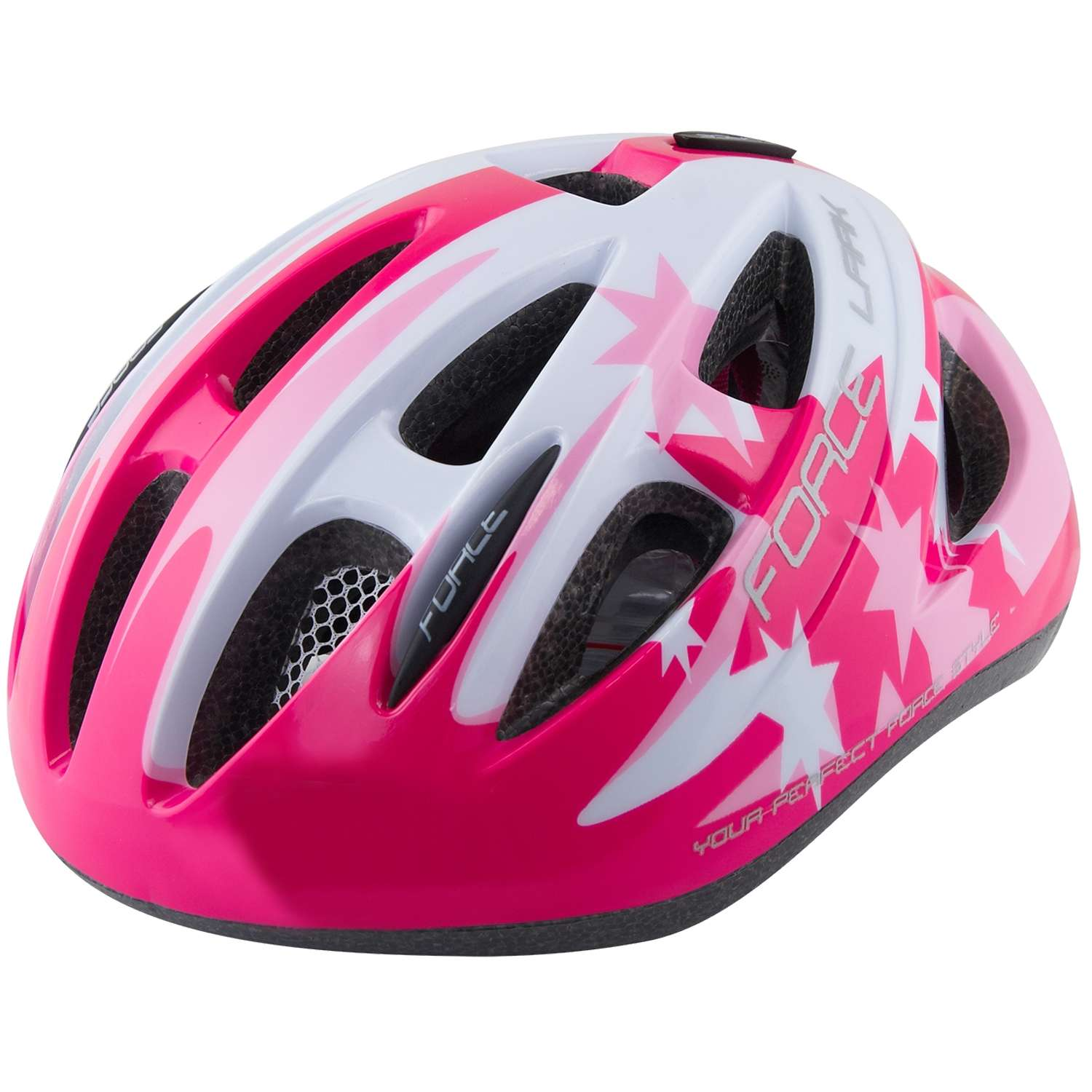 great force lark kinder fahrradhelm pink wei with fahrradhelm kind