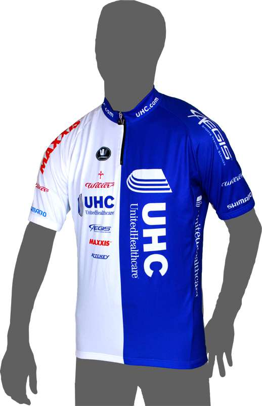 Unitedhealthcare Courtes 2014 Manches Courtes Unitedhealthcare Maillot (Courte Fermeture Éclair) - Vermarc Cyclisme - 8fb8dc
