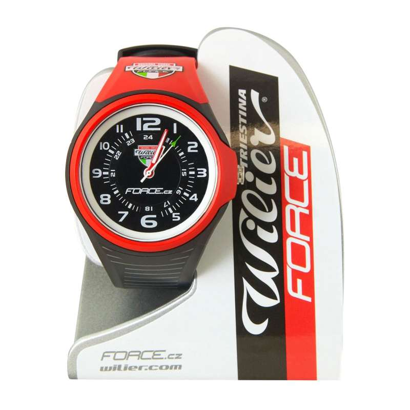 Trikotexpress wilier force watch red black buy online for What watch to buy