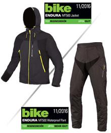 Biketest Endura MT500 Regenbekleidung