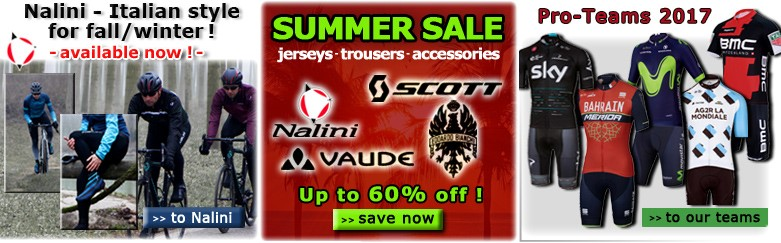 Nalini PRO winter, Summer Sale and Pro-Teams 2017