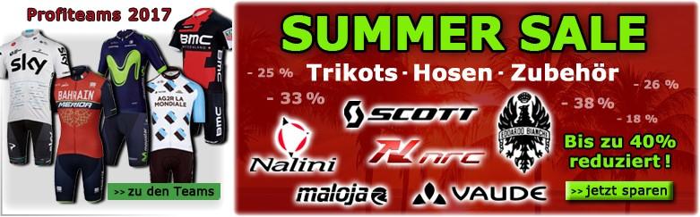 Profi-Radteams 2017, Summer Sale