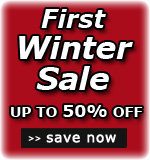First Winter Sale - up to 50% off