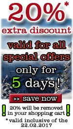 Final Winter Sale - 20% extra discount for all special offers