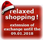 Extension of exchange until the 09.01.2018