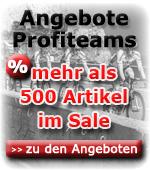Angebote Profiteams - mehr als 500 Artikel reduziert