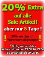 20% Extra auf alle Sale-Artikel